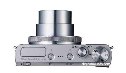 Kamera Canon Powershot G9 X (Atas)