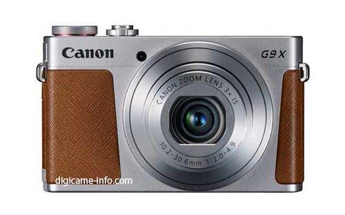 Kamera Canon Powershot G9 X (Depan)