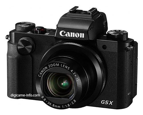 Kamera Canon Powershot G5 X (Depan)