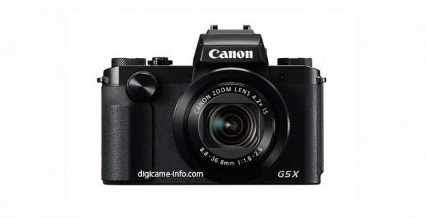 Canon PowerShot G5 X (Depan)