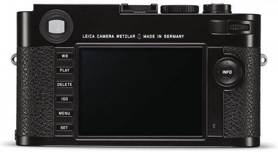 Kamera Rangefinder Leica M Typ 262 (Belakang), Image Credit : Leica