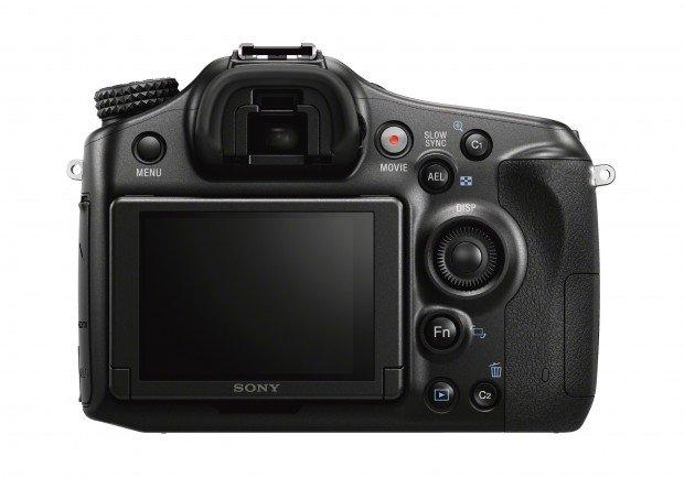 Kamera Terbaru Sony A68 (Belakang), Image Credit : Sony