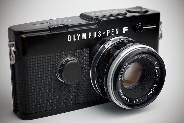 Olympus PEN-F, Image Credit : theonlinephotographer.typepad.com