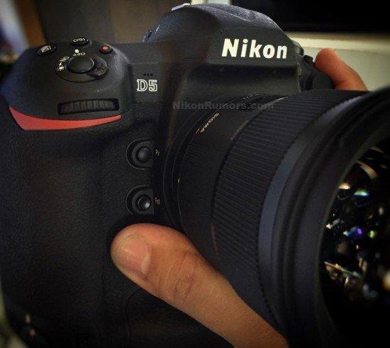 Foto Kamera DSLR Nikon D5