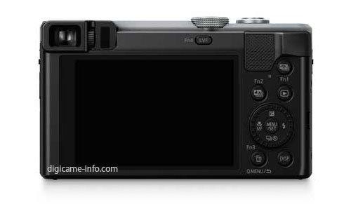 Kamera Poket Panasonic TZ80 (Belakang)