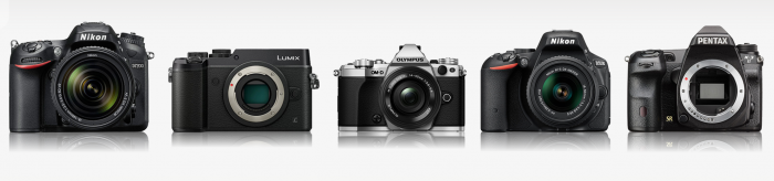 5 Kamera DSLR Terbaik dan Mirrorless Terbaik 2016