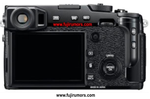 Fujifilm X-Pro2 (Belakang), Image Credit : Fujirumors.com