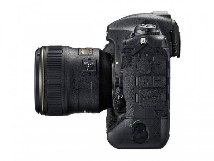 Kamera DSLR Nikon D5 (Kiri), Image Credit : NIkon