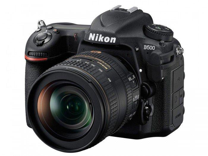 Kamera Nikon DSLR D500 (Depan), Image Credit : Nikon