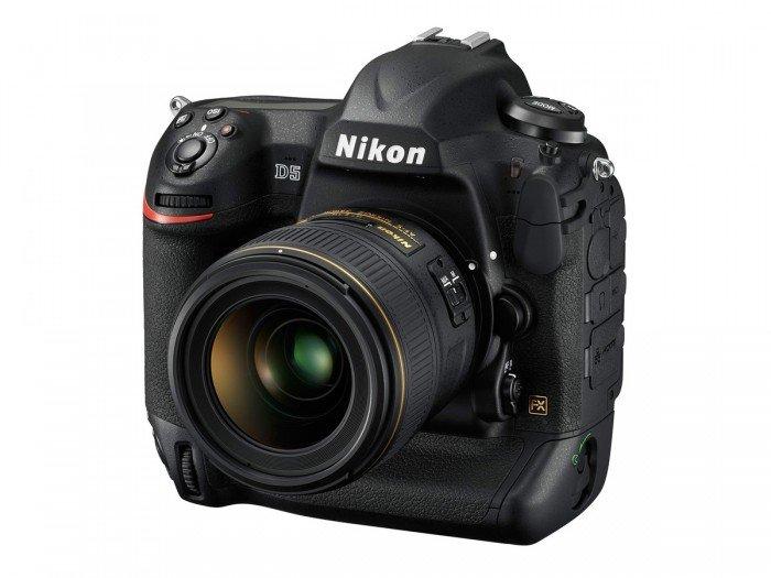 Kamera DSLR Nikon D5, Image Credit : NIkon