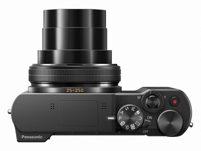 Kamera Panasonic Lumix TZ100 (Atas), Image Credit : Panasonic