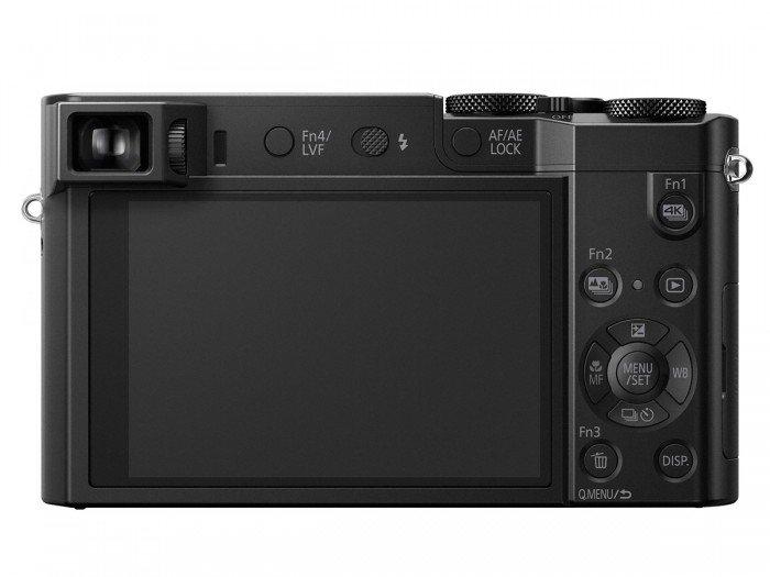 Kamera Panasonic Lumix TZ100 (Belakang), Image Credit : Panasonic