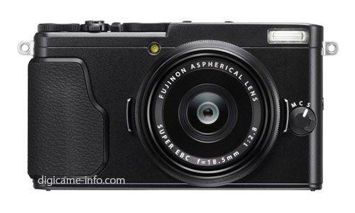 Kamera Fuji X70 (Depan)