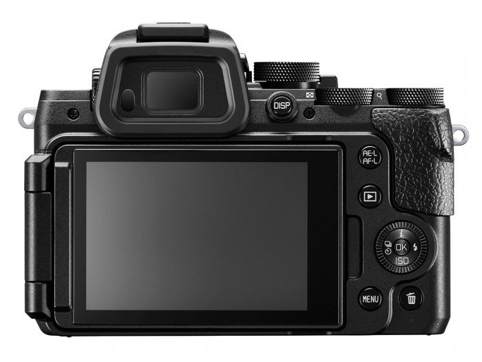 Kamera Nikon DL24-500 (Belakang), Image Credit : Nikon