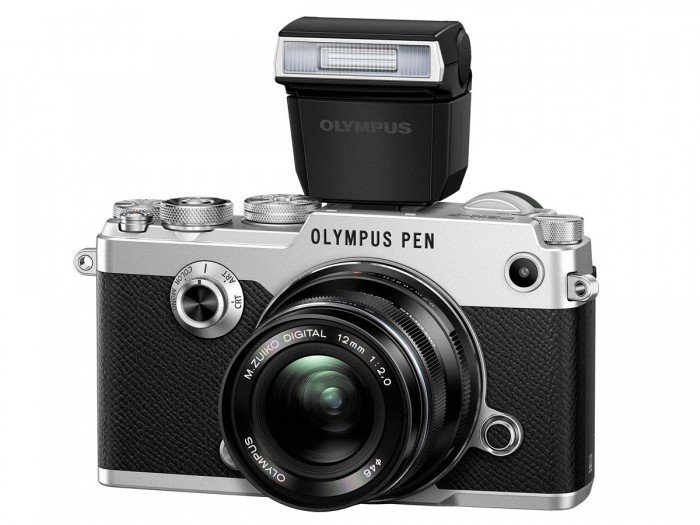 Kamera Mirrorless Olympus PEN-F (Flash), Image Credit : Olympus