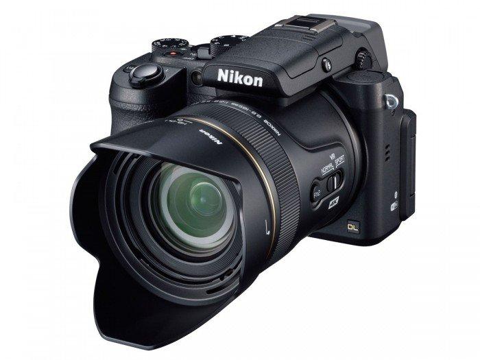Kamera Nikon DL24-500 (Lens hood), Image Credit : Nikon