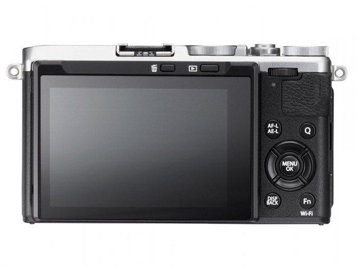 Kamera Fujifilm X70 (Belakang), Image Credit : Fujifilm
