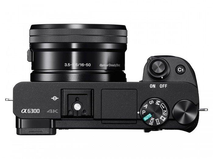 Kamera Mirrorless Sony A6300 (Atas), Image Credit : Sony