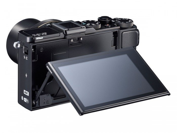 Kamera Nikon DL24-85 (LCD tilted), Image Credit : Nikon