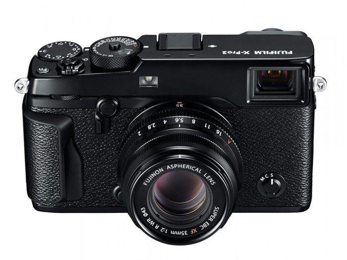 Kamera Fujifilm X-Pro2 (Depan Atas), Image Credit: Fujifilm
