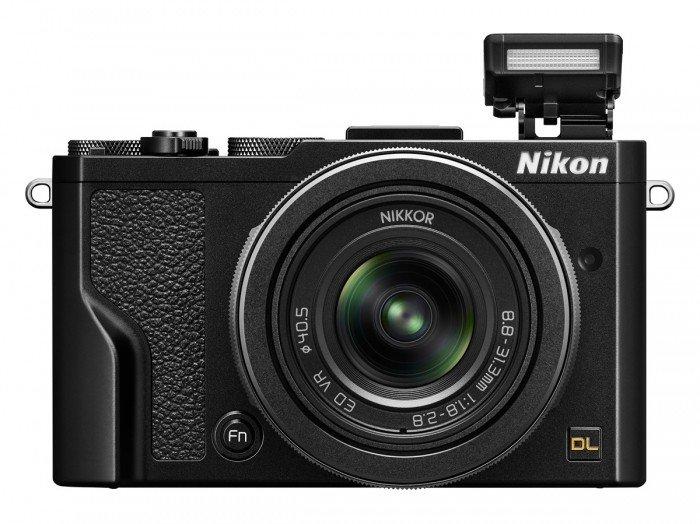 Kamera Nikon DL24-85 (Depan), Image Credit : Nikon