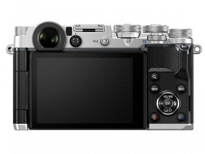 Kamera Mirrorless Olympus PEN-F (Belakang), Image Credit : Olympus