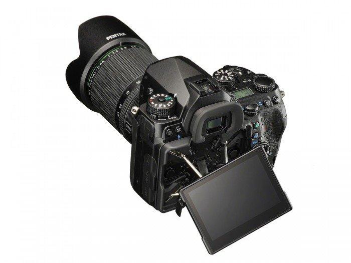 Kamera DSLR Pentax K-1 (LCD), Image Credit : Pentax