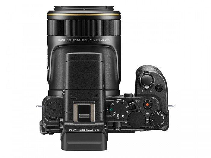 Kamera Nikon DL24-500 (Atas), Image Credit : Nikon
