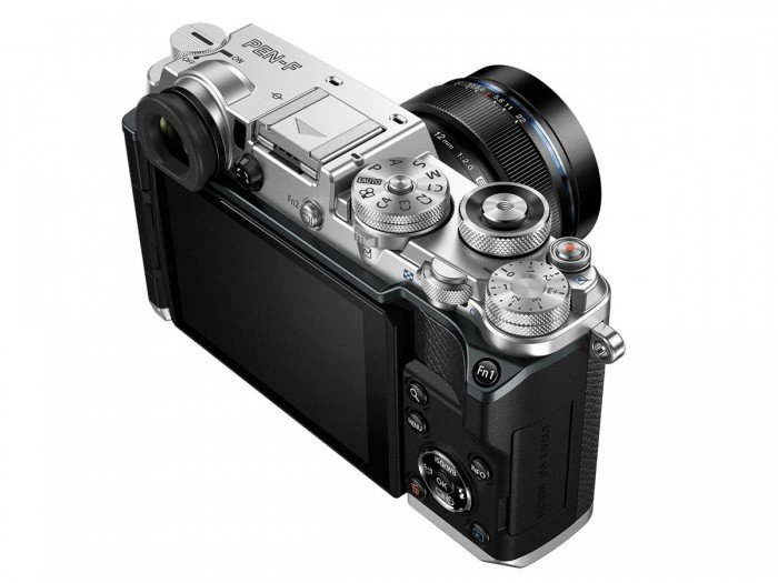 Kamera Mirrorless Olympus PEN-F (Pojok), Image Credit : Olympus