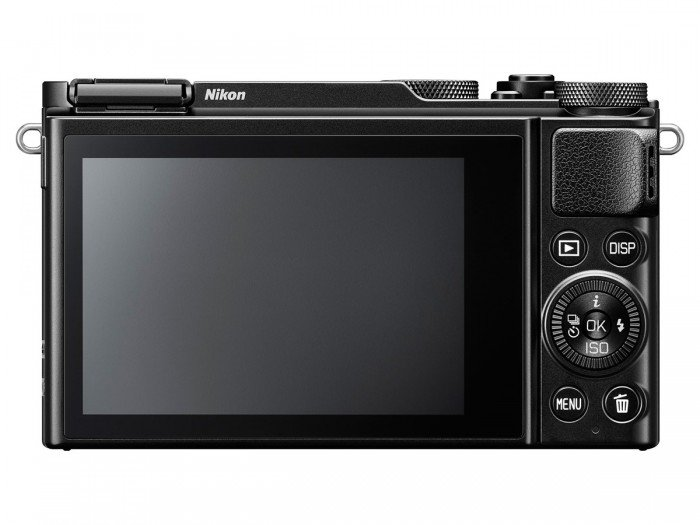 Kamera Nikon DL18-50 (Belakang), Image Credit : Nikon