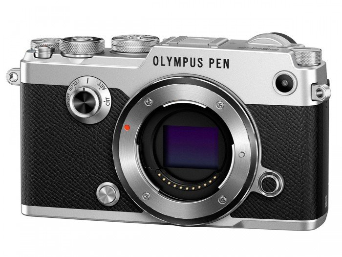 Kamera Mirrorless Olympus PEN-F (Depan), Image Credit : Olympus