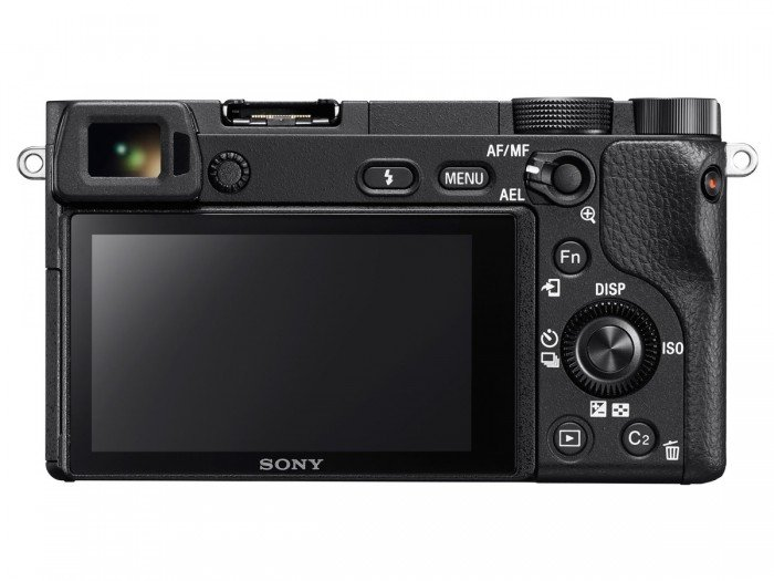 Kamera Mirrorless Sony A6300 (Belakang), Image Credit : Sony