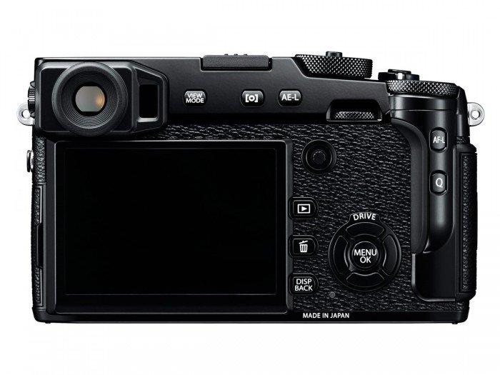 Kamera Fujifilm X-Pro2 (Belakang), Image Credit: Fujifilm