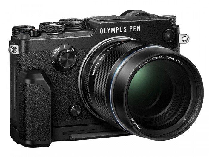 Kamera Mirrorless Olympus PEN-F (Hitam), Image Credit : Olympus