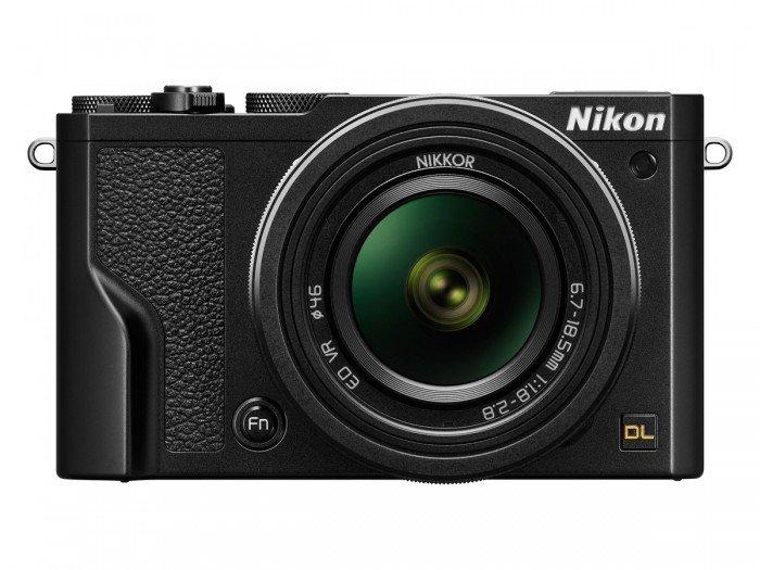 Kamera Nikon DL18-50 (Depan), Image Credit : Nikon