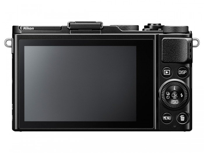 Kamera Nikon DL24-85 (Belakang), Image Credit : Nikon