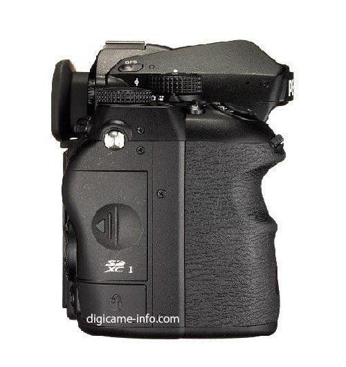 Kamera Pentax K-1 (Samping Kanan)