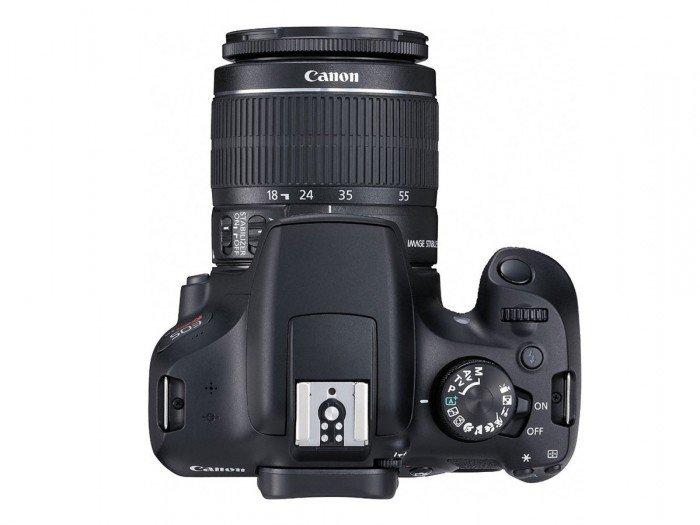 Canon EOS 1300D (Atas), Image Credit : Canon