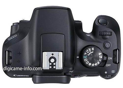 Kamera DSLR Canon 1300D Terbaru (Atas)