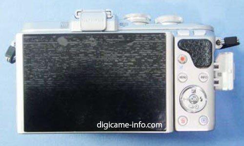Kamera Olympus E-PL 8 (Belakang)