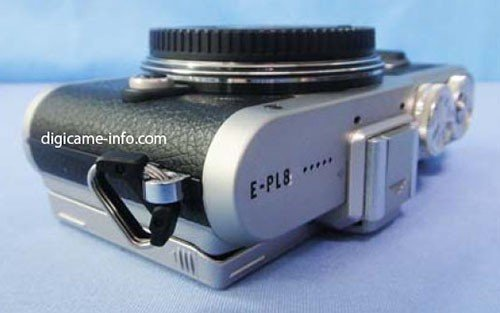 Kamera Olympus E-PL 8 (Atas)