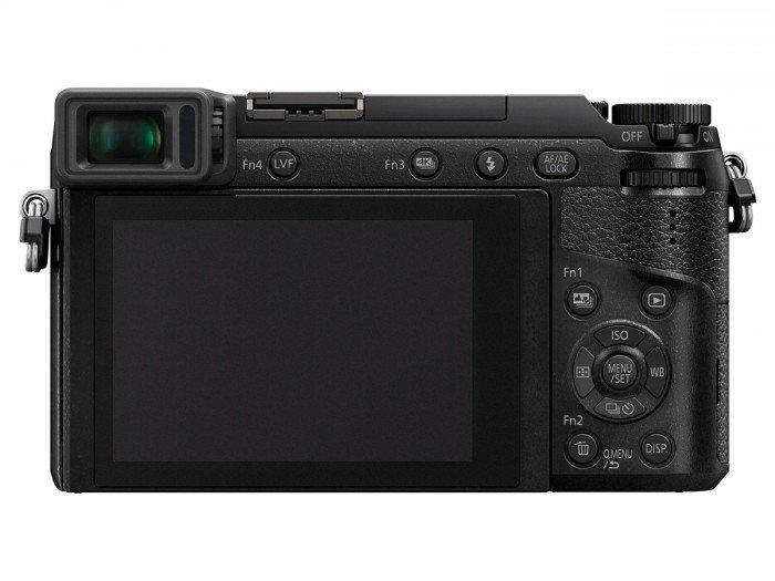 Kamera Mirrorless Panasonic GX80 (Belakang), Image Credit : Panasonic