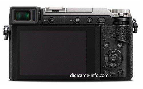 Kamera Panasonic GX80 (Belakang)