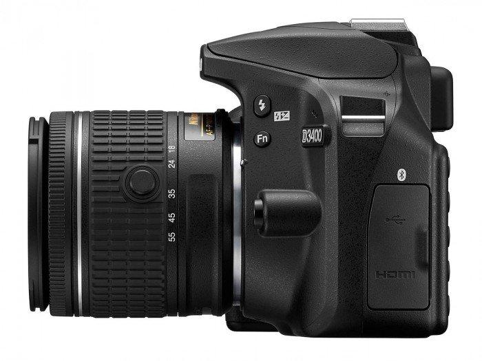 Kamera Terbaru Nikon D3400 (Kiri), Image Credit : Nikon
