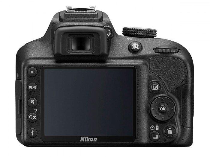 Kamera Terbaru Nikon D3400 (Belakang), Image Credit : Nikon