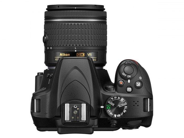 Kamera Terbaru Nikon D3400 (Atas), Image Credit : Nikon