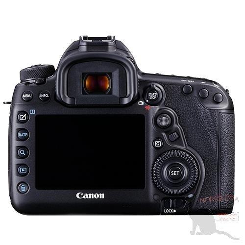 Kamera DSLR Canon 5D Mk IV (Belakang)