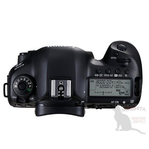 Kamera DSLR Canon 5D Mk IV (Atas)