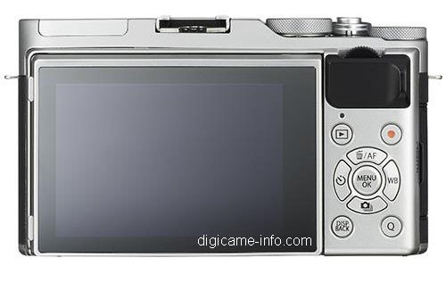 Kamera Terbaru Fujifilm X-A3 (Belakang)