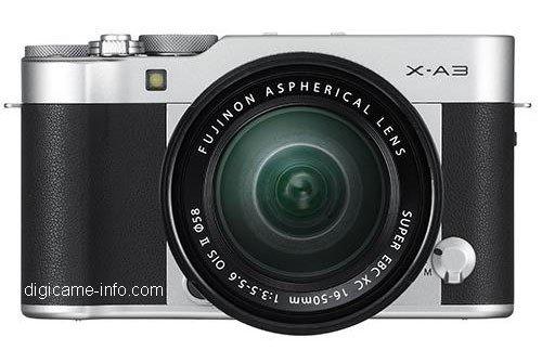 Kamera Terbaru Fujifilm X-A3 (Hitam)
